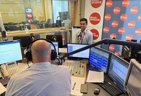 yash dutt interview radio brisbane