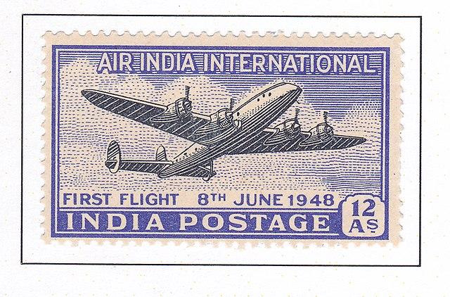 air india stamp