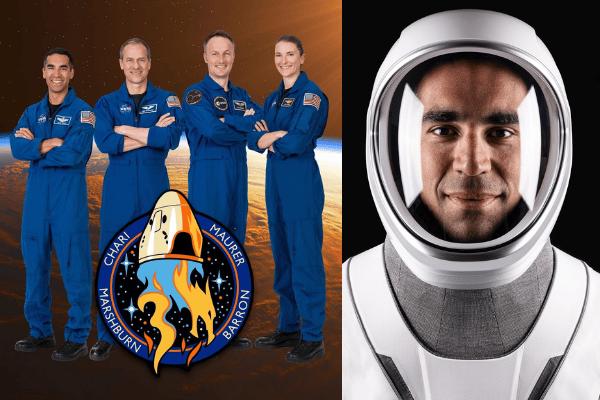 Astronauts Raja Chari, Tom Marshburn, Matthias Maurer and Kayla Barron. Source: Twitter
