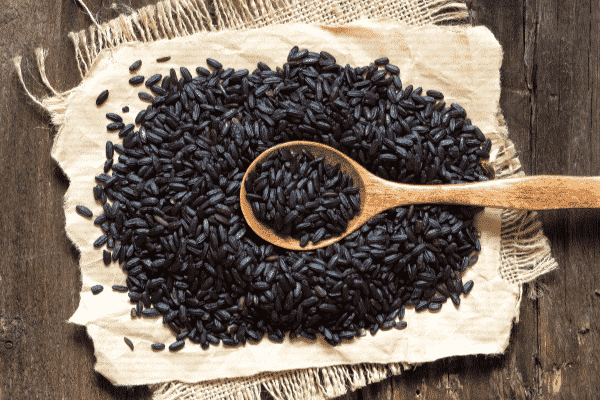 Black Rice. Source: Canva