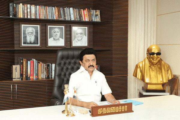 Chief Minister M.K Stalin. Source: Twitter