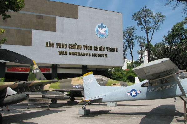 War Remnants Museum, Ho Chi Minh City.