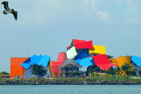 Biomuseo at Panama City, Panama. Source: Wikimedia Commons.