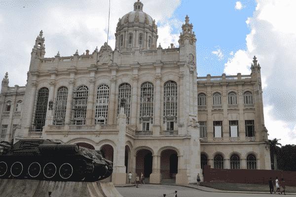 Museo de la Revolucion in Havana, Cuba.